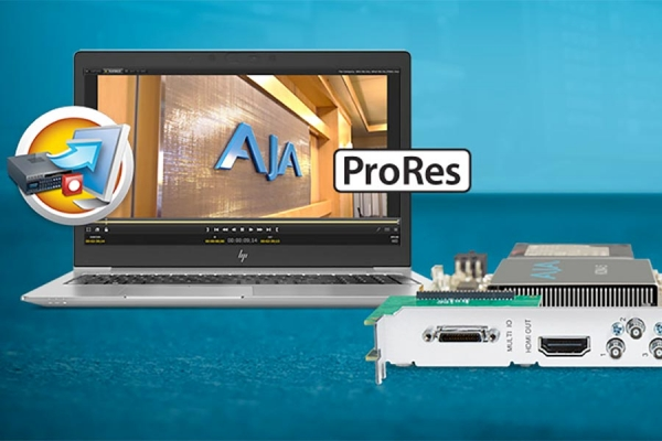 AJA Introduces ProRes Integration in AJA Control Room v15.2
